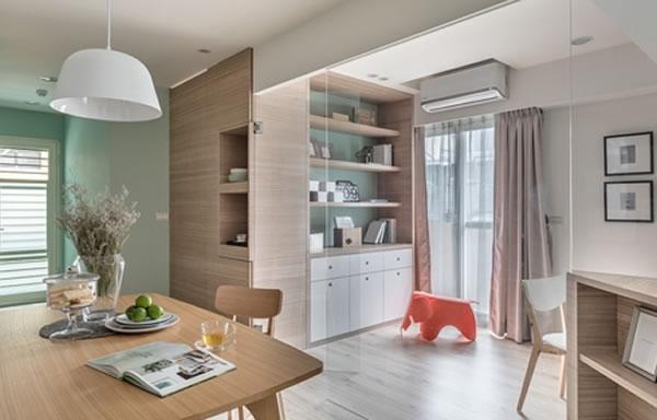 Gợi ý sơn nội thất màu bạc hà tạo không gian thoáng mát, thân thiện-3