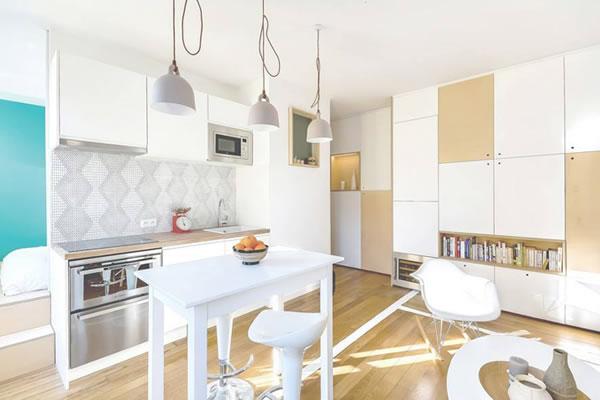 Cách sơn nhà màu trắng thêm đẹp và nổi bật