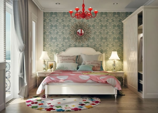 Phòng ngủ hiện đại trẻ trung