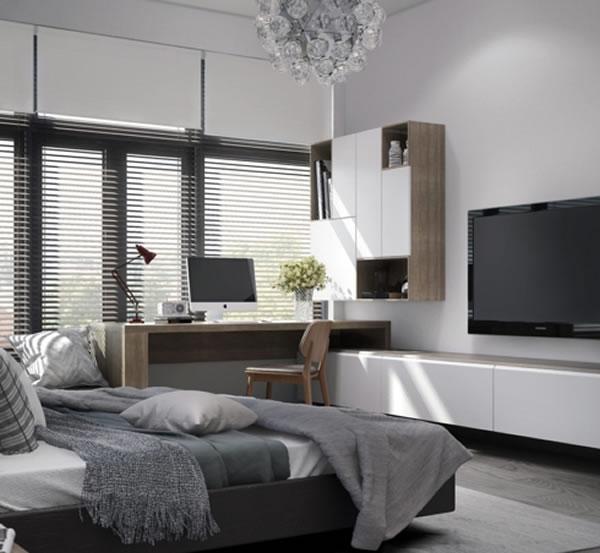 Phòng ngủ hiện đại trẻ trung-2