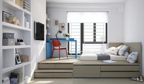 Phòng ngủ hiện đại trẻ trung-8