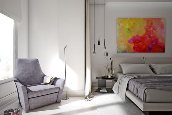 Căn hộ màu trắng với thiết kế phòng khách và nhà bếp liền kề sang trọng tiện nghi-7