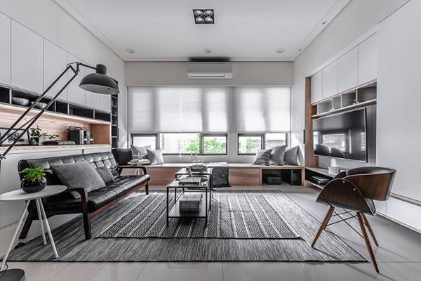 Không gian nội thất gỗ đẹp sang trọng
