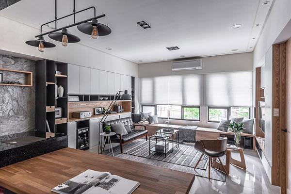 Không gian nội thất gỗ đẹp sang trọng-1