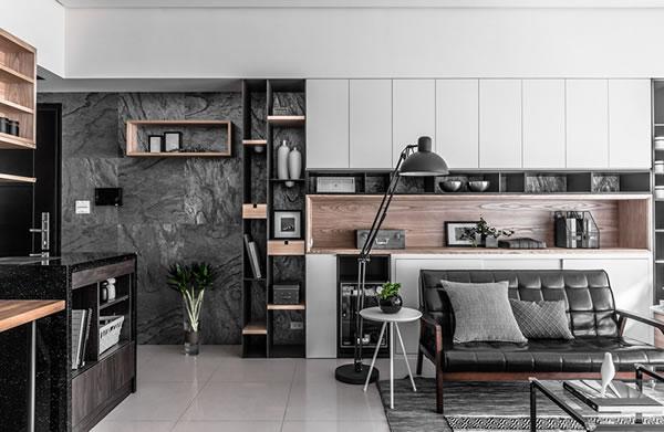 Không gian nội thất gỗ đẹp sang trọng-2