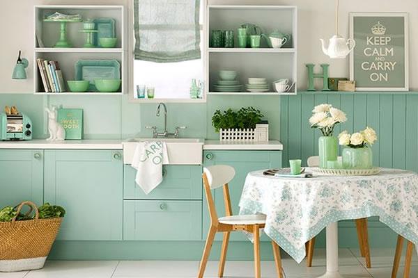 Màu Pastel và trang trí nội thất