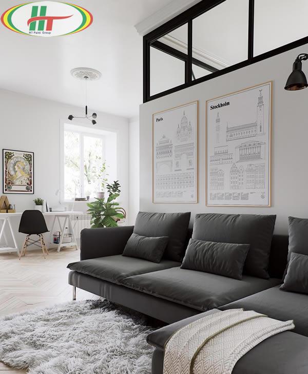 Gợi ý thiết kế căn hộ nhỏ với những nội thất đơn giản-1