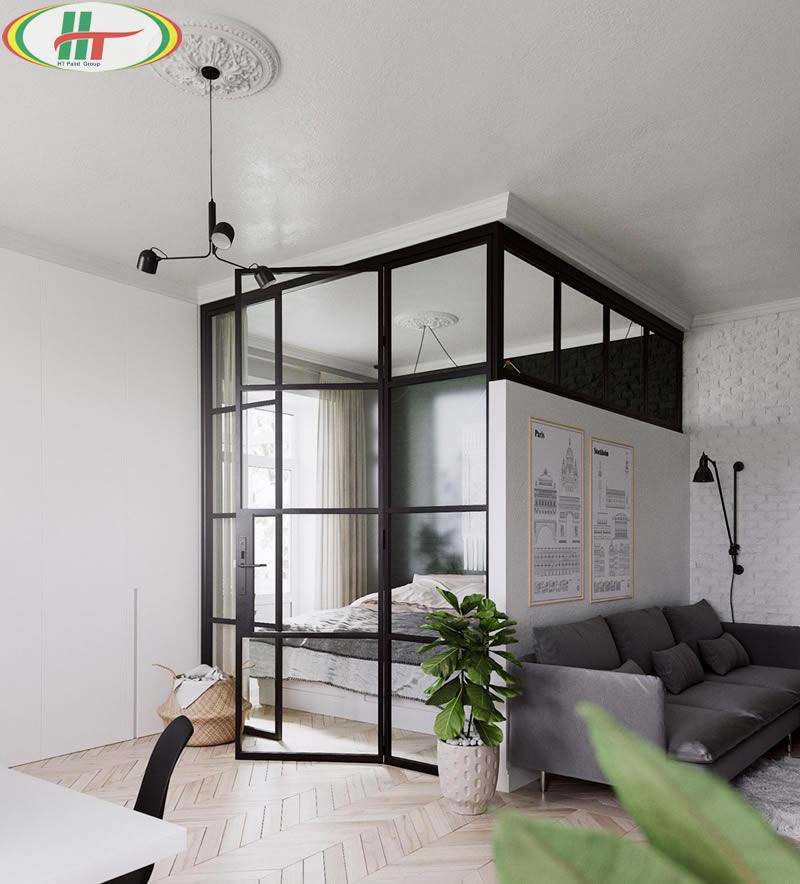 Gợi ý thiết kế căn hộ nhỏ với những nội thất đơn giản-2