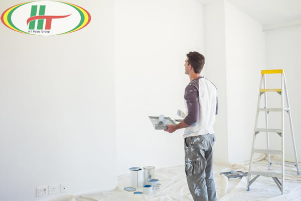 Chia sẻ các bước thi công sơn nhà tiết kiệm bền đẹp