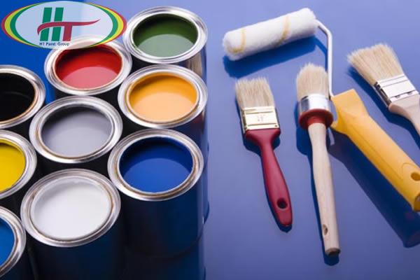 Các đồ dùng thi công sơn