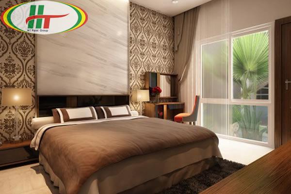 Thiết kế và chọn màu sơn cho phòng ngủ người cao tuổi