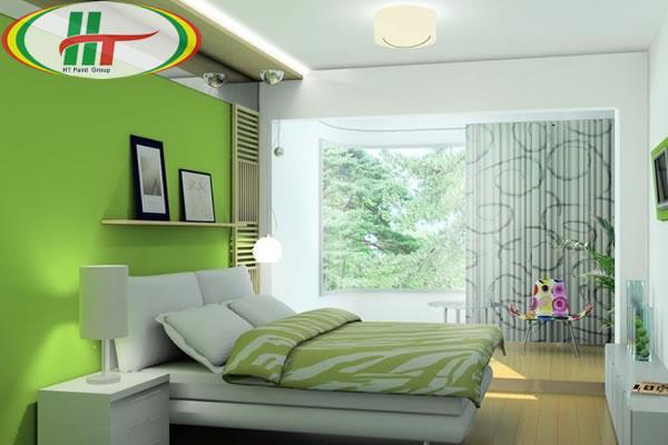 Những màu sơn tường cho phòng ngủ thêm đẹp, ấn tượng-2