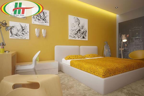 Những màu sơn tường cho phòng ngủ thêm đẹp, ấn tượng-1