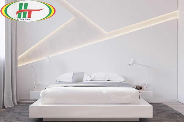 Màu sơn nội thất không gian phòng ngủ hợp người mệnh Kim