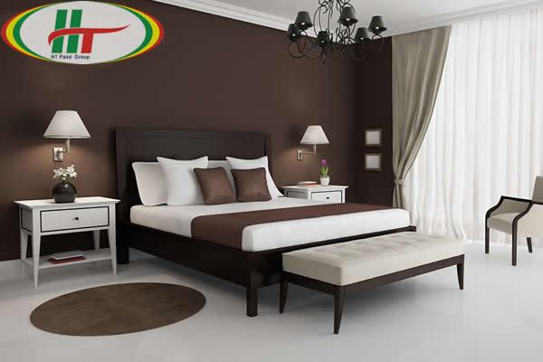 Gợi ý sử dụng màu nâu trong trang trí nội thất cho căn phòng thêm sang trọng-1
