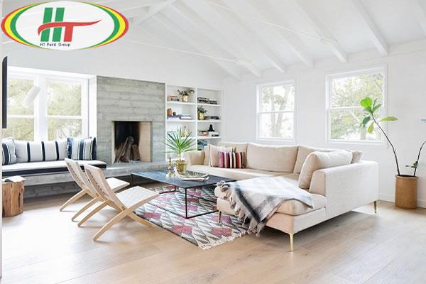 Tổng hợp cách sử dụng màu pastel trong trang trí nội thất phòng khách