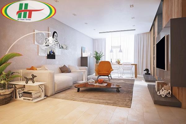 Tổng hợp cách sử dụng màu pastel trong trang trí nội thất phòng khách-4