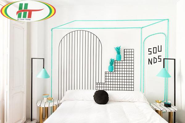 Những mẫu phòng ngủ đẹp với màu sắc nổi bật thiết kế ấn tượng dành cho nữ-3