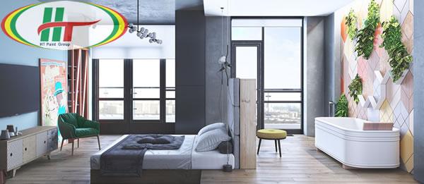 Những mẫu phòng ngủ đẹp với màu sắc nổi bật thiết kế ấn tượng dành cho nữ-5
