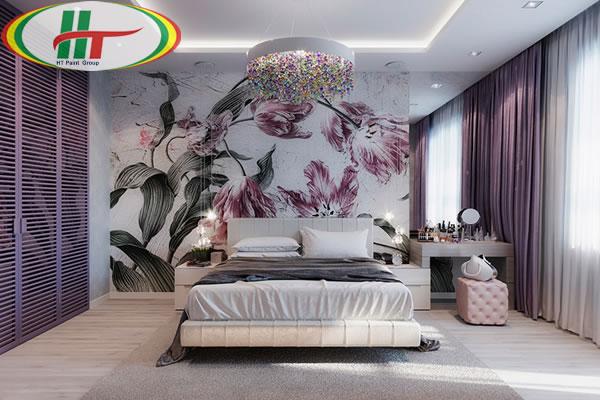 Những mẫu phòng ngủ đẹp với màu sắc nổi bật thiết kế ấn tượng dành cho nữ-6