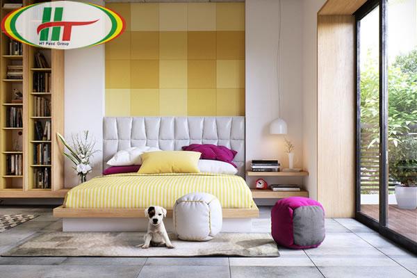 Những mẫu phòng ngủ đẹp với màu sắc nổi bật thiết kế ấn tượng dành cho nữ-9
