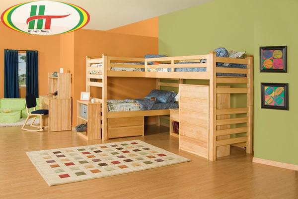 Trang trí nội thất phòng trẻ với những gam màu ấn tượng-2