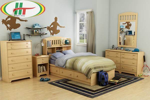 Trang trí nội thất phòng trẻ với những gam màu ấn tượng-3
