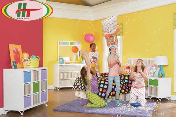 Trang trí nội thất phòng trẻ với những gam màu ấn tượng-9