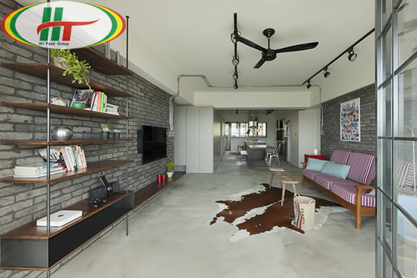 Chiêm ngưỡng căn hộ thiết kế nội thất theo phong cách công nghiệp ấn tượng-1