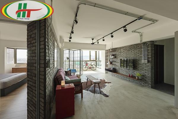 Chiêm ngưỡng căn hộ thiết kế nội thất theo phong cách công nghiệp ấn tượng-2