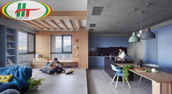 Chiêm ngưỡng không gian trang trí nội thất màu xanh dương-5