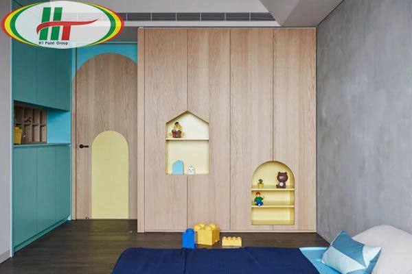 Chiêm ngưỡng không gian trang trí nội thất màu xanh dương-6