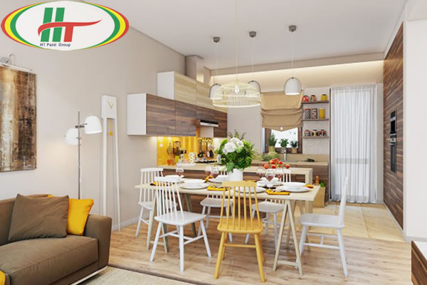 Những mẫu phòng ăn đẹp thiết kế nội thất theo phong cách hiện đại-1