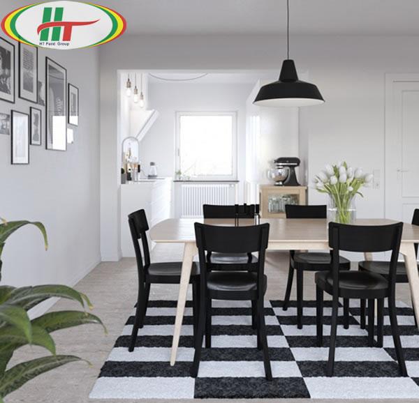Những mẫu phòng ăn đẹp thiết kế nội thất theo phong cách hiện đại-2