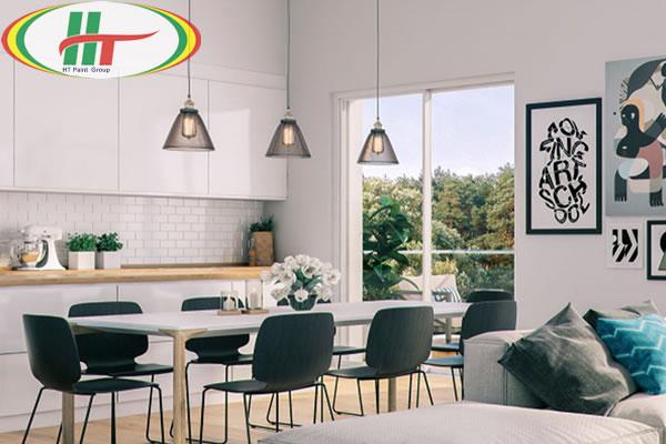 Những mẫu phòng ăn đẹp thiết kế nội thất theo phong cách hiện đại-3