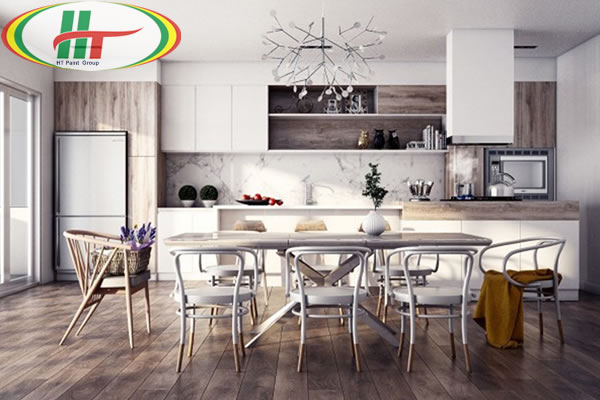 Những mẫu phòng ăn đẹp thiết kế nội thất theo phong cách hiện đại-4