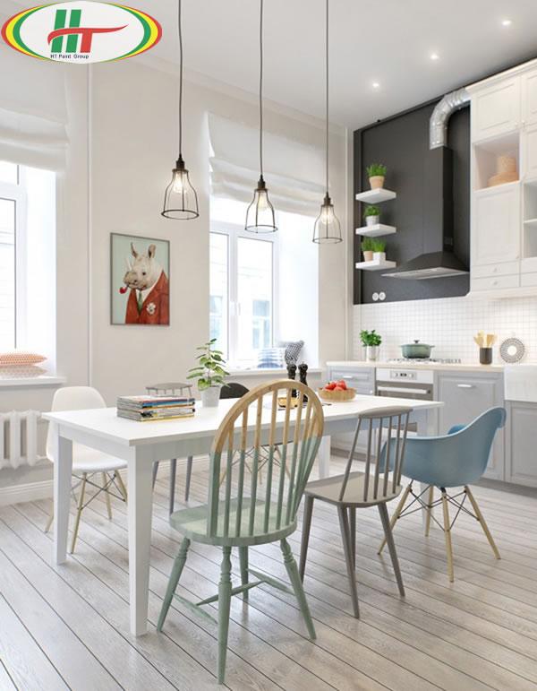 Những mẫu phòng ăn đẹp thiết kế nội thất theo phong cách hiện đại-5