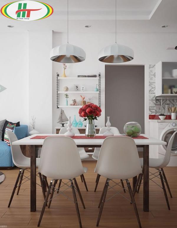 Những mẫu phòng ăn đẹp thiết kế nội thất theo phong cách hiện đại-6