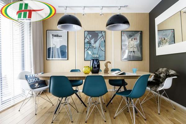 Những mẫu phòng ăn đẹp thiết kế nội thất theo phong cách hiện đại-7