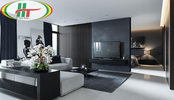 Sau màu trắng thì màu đen là sự lựa chọn tuyệt với để kết hợp với màu xám