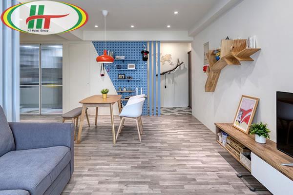 Căn hộ thiết kế nội thất ấn tượng theo phong cách Retro-2