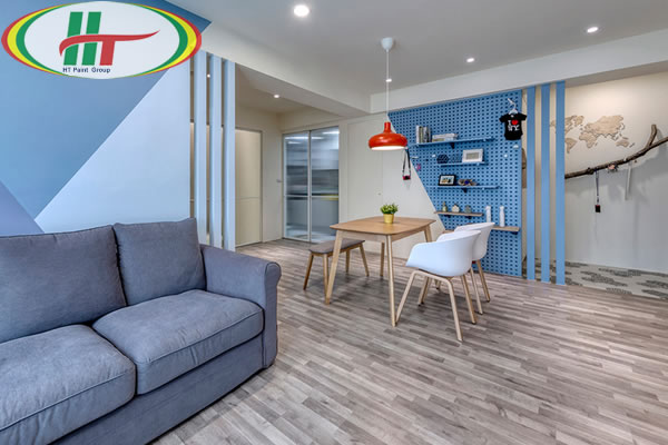 Căn hộ thiết kế nội thất ấn tượng theo phong cách Retro-3