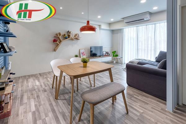 Căn hộ thiết kế nội thất ấn tượng theo phong cách Retro-4