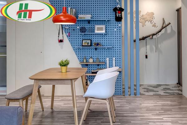 Căn hộ thiết kế nội thất ấn tượng theo phong cách Retro-5