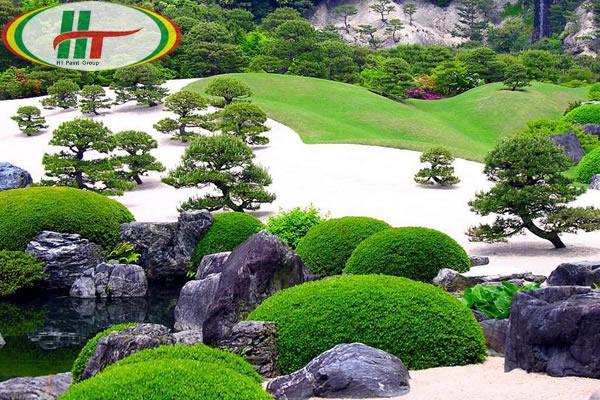 Cây xanh là yếu tố không thể thiếu trong phong cách Zen