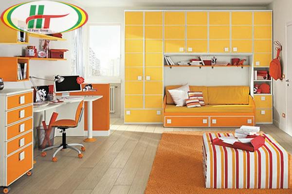Phòng trẻ đẹp với ý tưởng kết hợp màu trắng với các đồ màu sắc rực rỡ khác-5