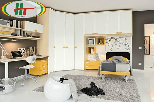 Phòng trẻ đẹp với ý tưởng kết hợp màu trắng với các đồ màu sắc rực rỡ khác-6