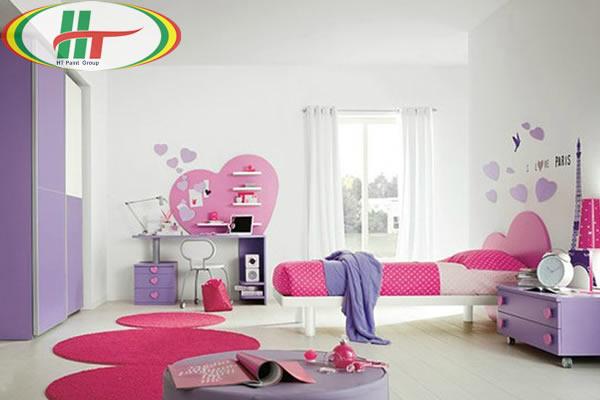 Phòng trẻ đẹp với ý tưởng kết hợp màu trắng với các đồ màu sắc rực rỡ khác-7