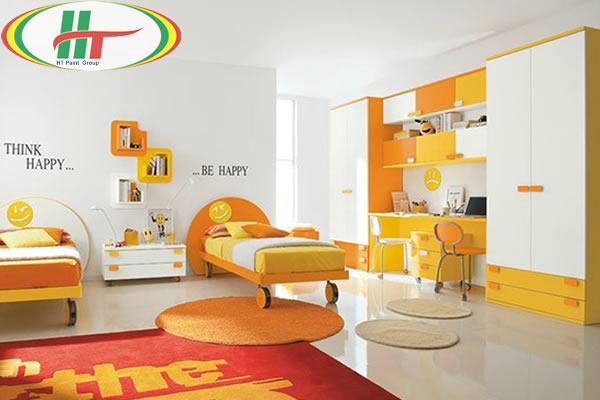 Phòng trẻ đẹp với ý tưởng kết hợp màu trắng với các đồ màu sắc rực rỡ khác-9