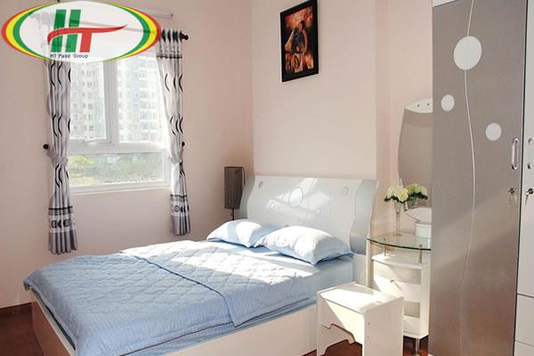 Chọn màu sơn tường phòng ngủ nhỏ nên chọn màu sáng